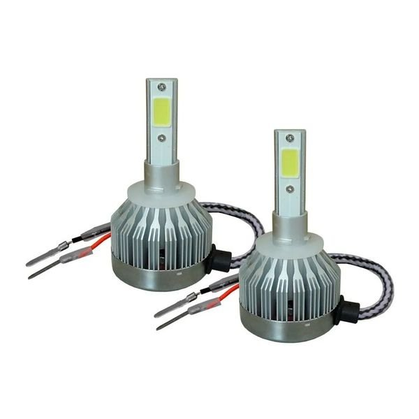 kit lampada super led branca h27 6200k 12v 24v au829 multilaser 2
