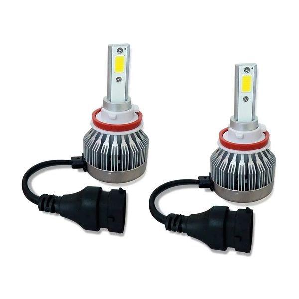 kit lampada super branca led multilaser h11 12v 6200k au837