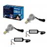 kit lampada led h3 6000k 12v 24v 32w shocklight sll 10003