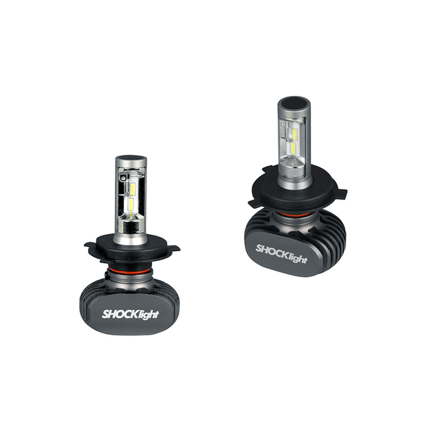 kit lampada led ultraled h4 6000k 12v 50w 4000lm shocklight