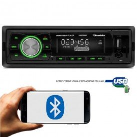 radio automotivo com bluetooth sdusb rs2709br roadsta
