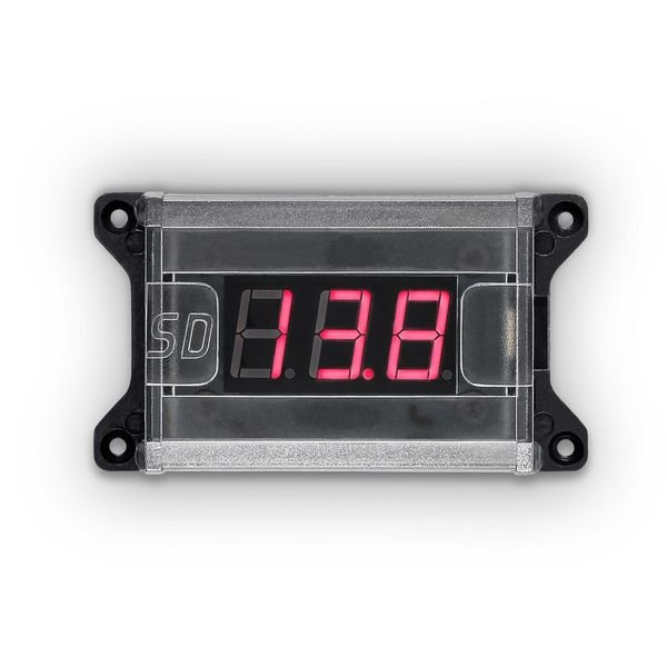 voltimetro vm 1 baixa e alta voltagem soundigital