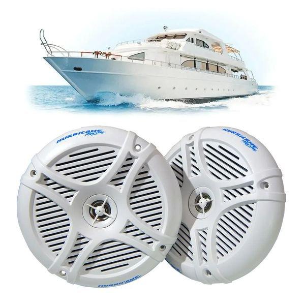 alto falante 6 5 marinizado hurricane mr 65 2 coaxial nautico par