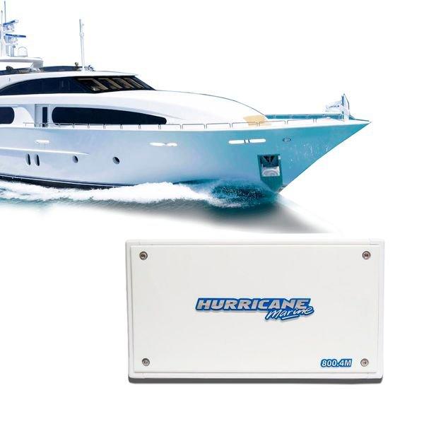 modulo amplificador para embarcacoes 800 4 m marine hurricane