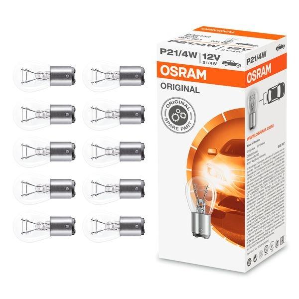 lampada 7225 freio 21 4w 12v com 10 pc osram