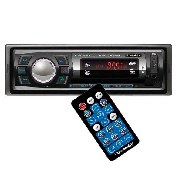 radio automotivo rs2606br roadstar