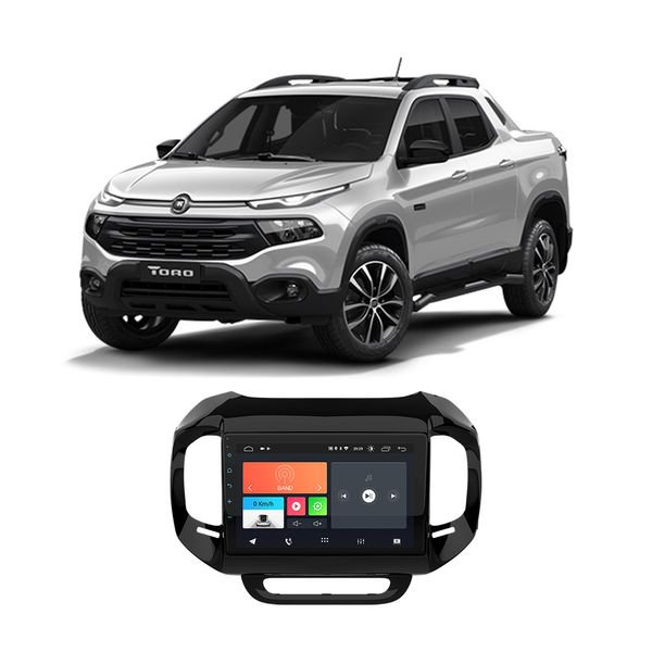 kit multimidia especifica fiat toro 2021 9 android ft mm and9 tr faaftech