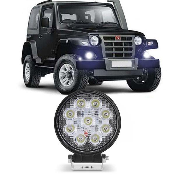 farol auxiliar milha carro troller jeep 32 led 96w redondo 2995 1 20190705094027